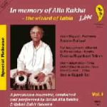 In Memory of Alla Rakha Volume 1